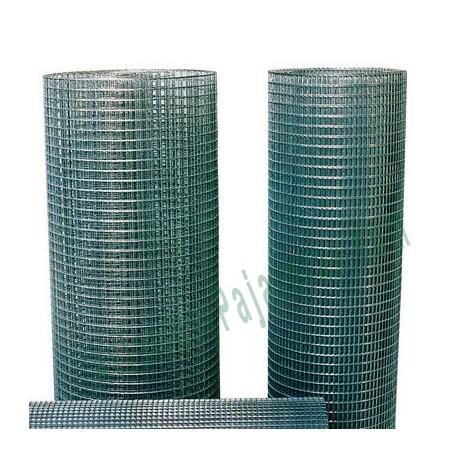 Malla electrosoldada reforzada 12,7 x 12,7 x 0,9 mm x 1,50 mt.