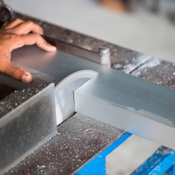 Corte de aluminio