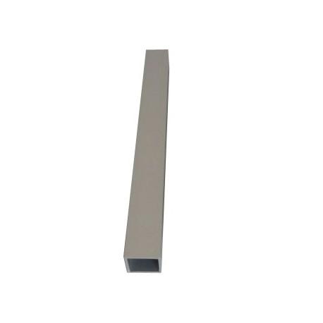 Tubo cuadrado aluminio 20 x 20 mm